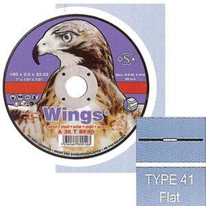 Τροχός Κοπής Σιδήρου Flat Wings
