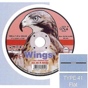 Τροχός Κοπής Inox Wings 230Mm X 1.9 X 22