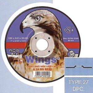 Τροχός Λείανσης Σιδήρου Wings
