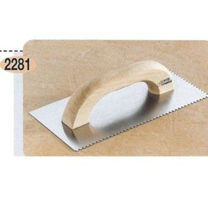 Σπάτουλα Πλακάδων Μεγάλη Με Δόντι10 X 10 Ref 619