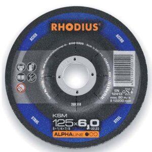 Τροχός Λειάνσεως 125 X 6Mm Ksm Rhodius