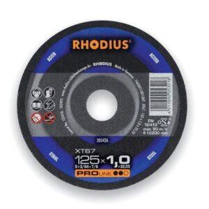 Τροχοί Κοπής Inox 125Mm Xt67 Rhodius