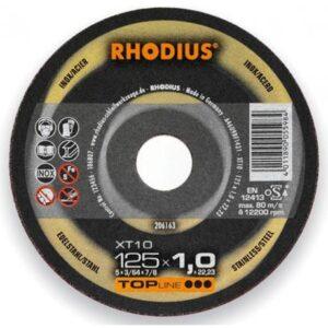 Τροχοί inox Xt10 Rhodius