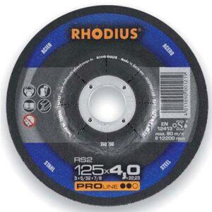 Τροχοί Λείανσης Inox Rs 38 230 X 6Mm Rhodius