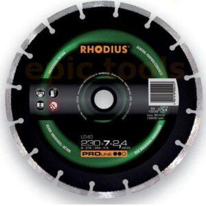 Τροχοί Διαμαντιού Ld40 Rhodius