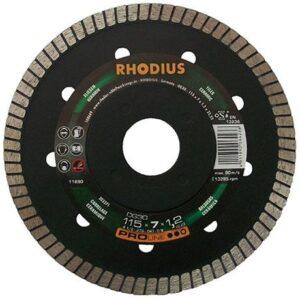 Διαμαντένιος Δίσκος Κοπής Για Πλακίδια Και Πέτρα Με Στροβιλοειδή Άκρη Κοπής Dg 30 Rhodius
