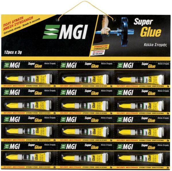 Κολλα Στιγμης 3Gr Κυανοακρυλικη - Καρτελα 12Τεμαχίων