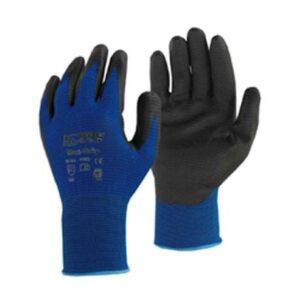 Γάντια Νιτριλίου Μπλε Βαρέως Τύπου No 10.5 Maxi-Work Maco