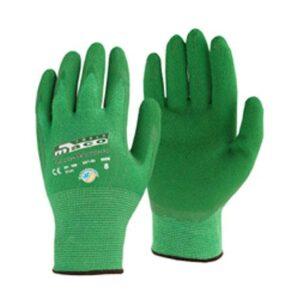 Γάντια Πλεκτά Νιτριλίου Με Ίνες Μπαμπου (Bamboo) Maco Maxi-Bamboo