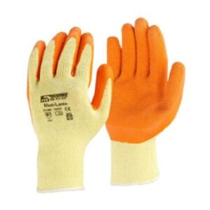Γάντια Νιτριλίου Πορτοκαλί No 10 Maco Maxi-Latex